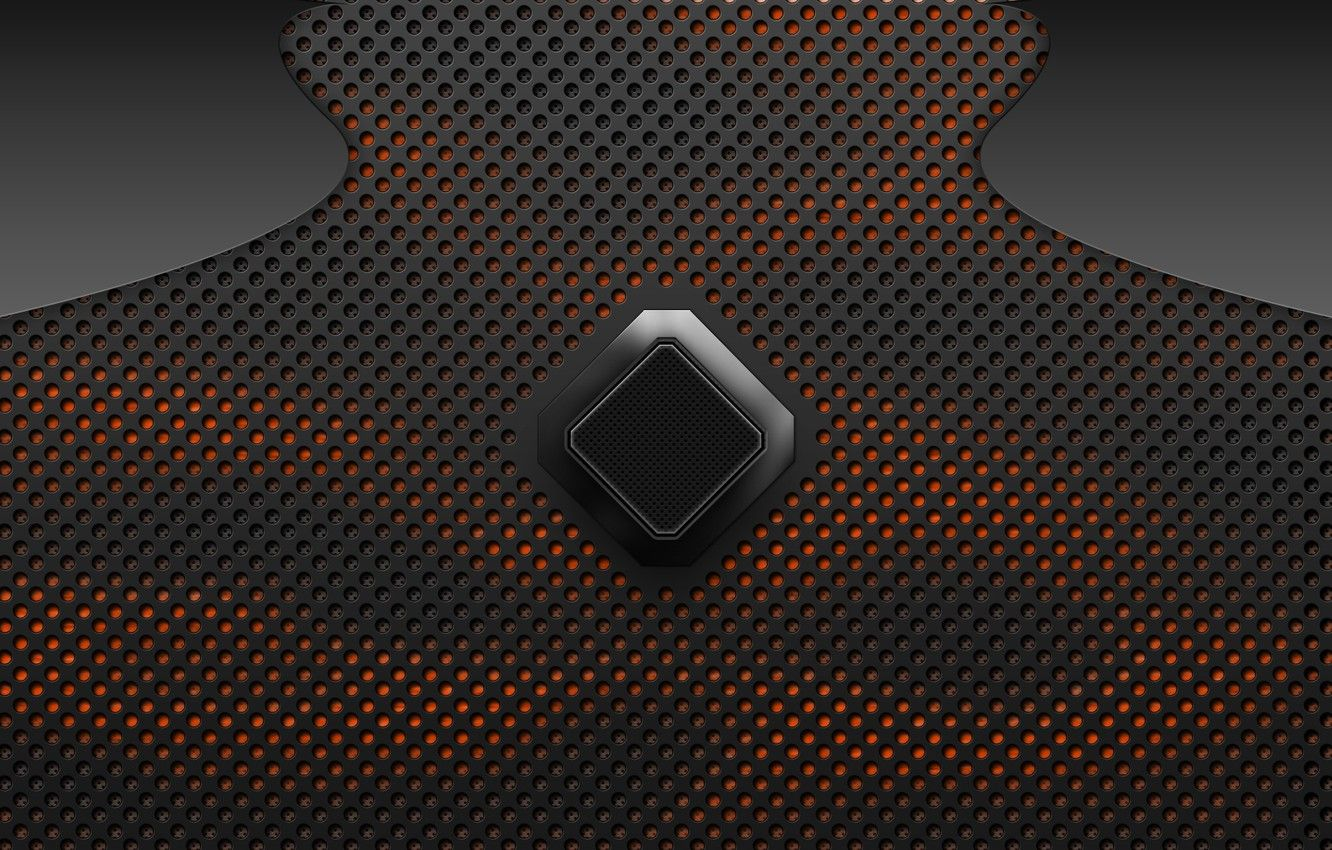 1332x850 Wallpaper orange, heat, carbon, rhombus, carbon fiber images ...