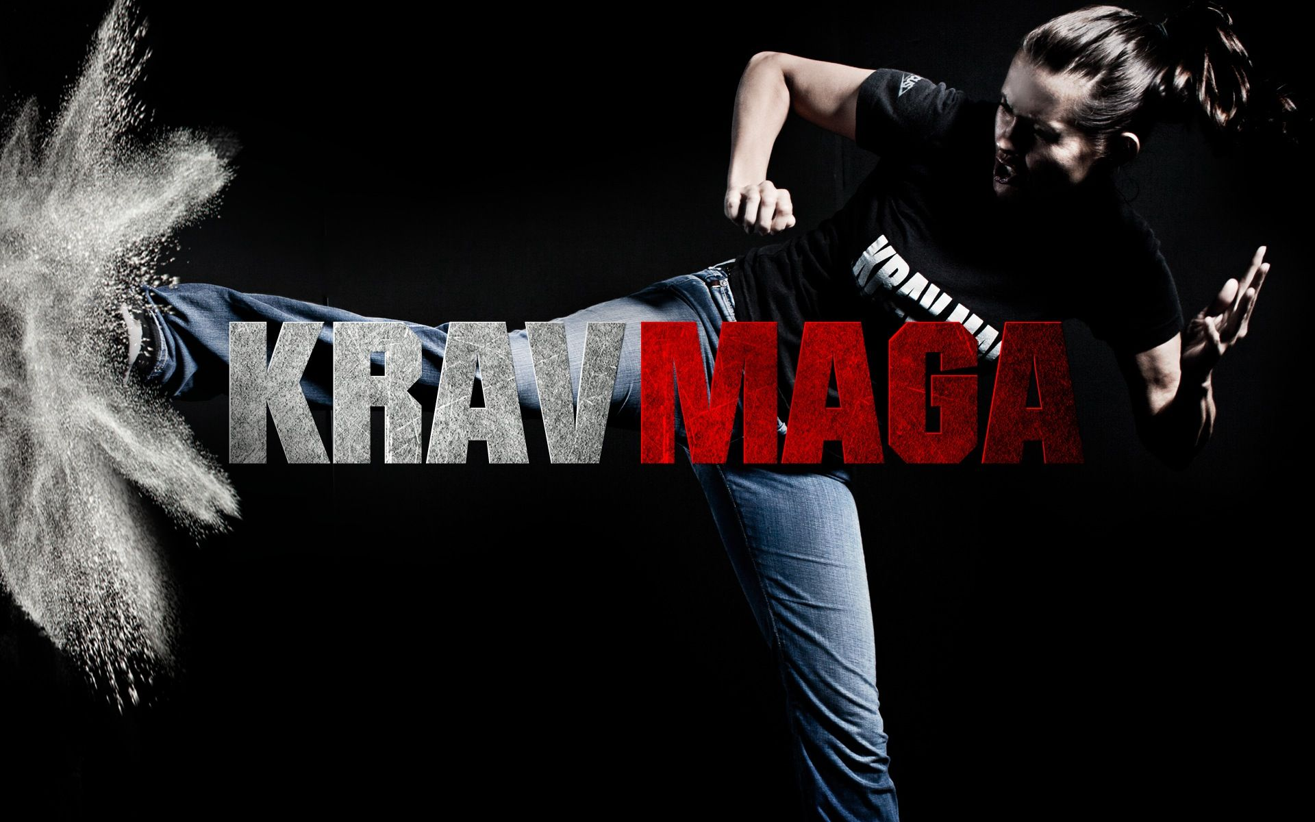 1920x1200 Krav Maga Martial Arts Kick HD wallpaper