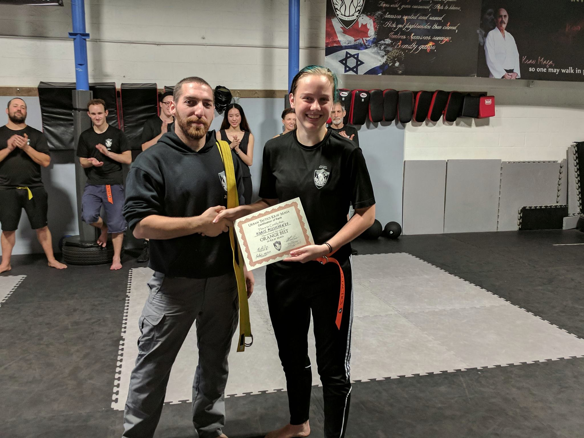 2048x1536 Karis Orange Belt | Urban Tactics Krav Maga