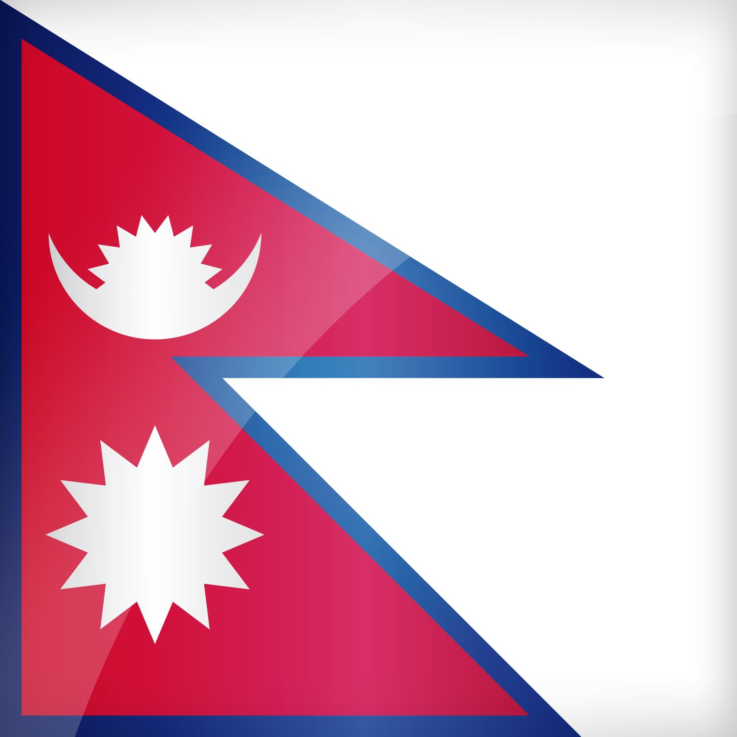 1500x1500 Nepal Flag Wallpapers