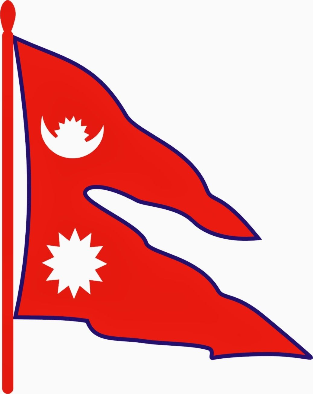 1037x1304 Nepal Flag Wallpapers