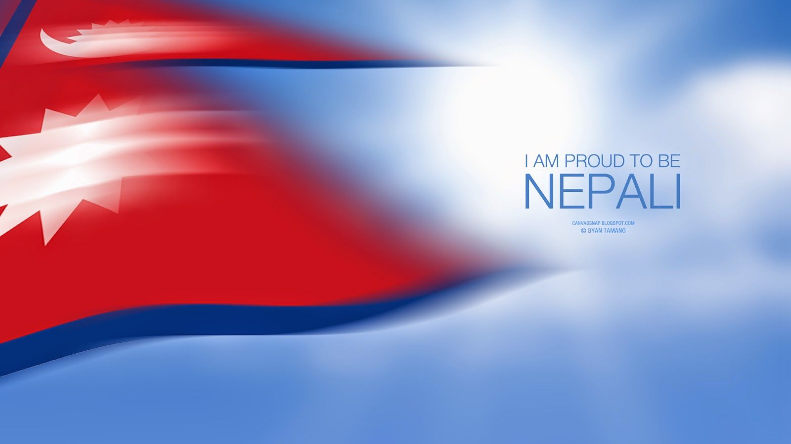 1600x900 Canvassnap: I am Proud to be Nepali