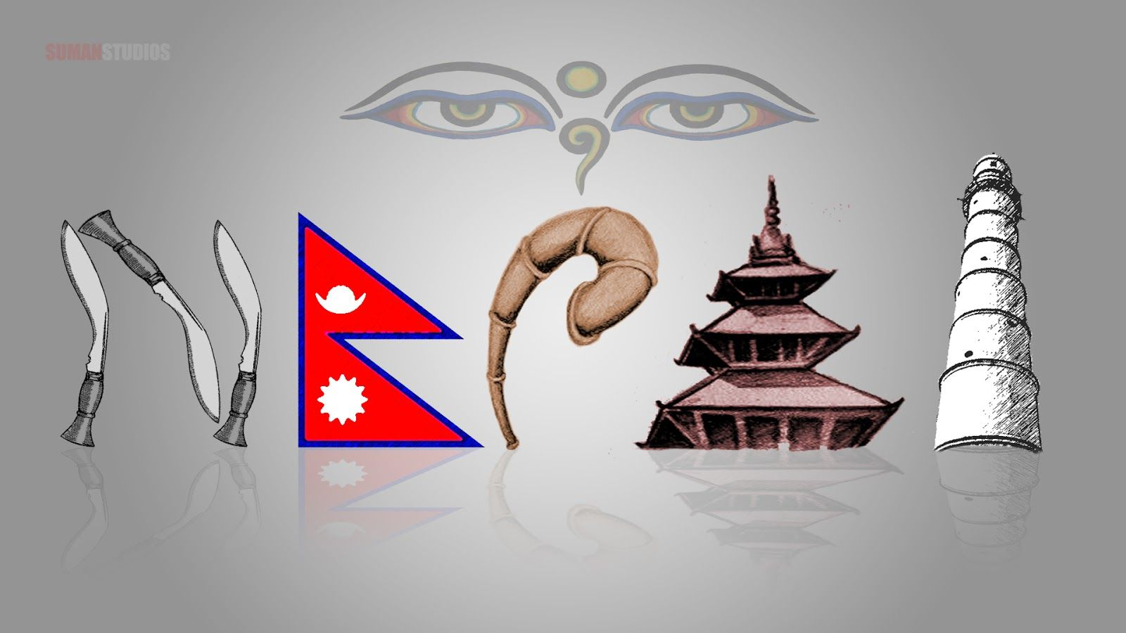 1600x900 Nepal Wallpaper - Illustration, Hd Wallpapers & backgrounds ...
