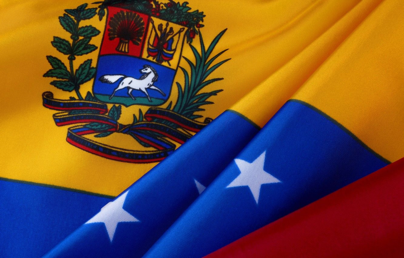 1332x850 Wallpaper stars, flag, coat of arms, stars, Venezuela, fon ...