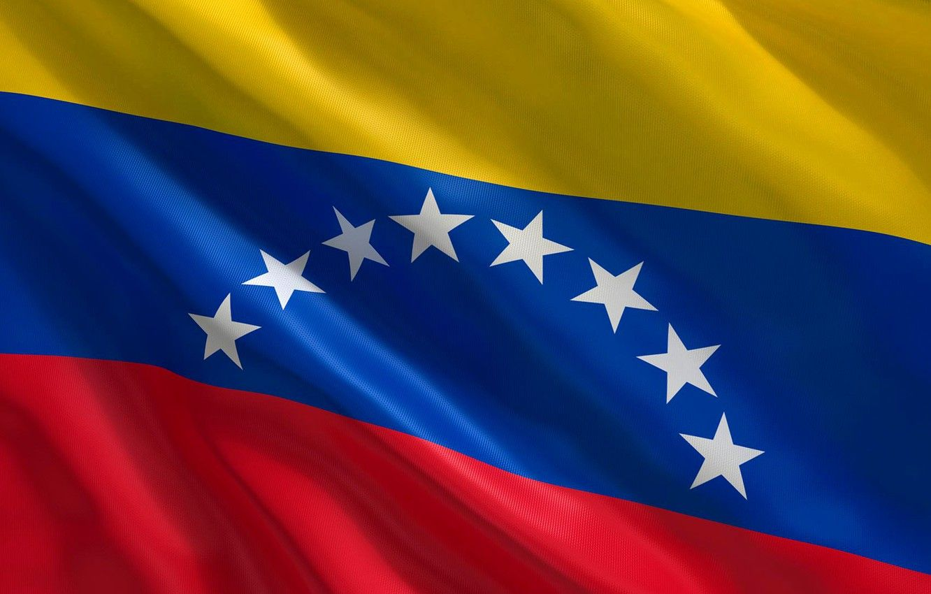1332x850 Wallpaper background, flag, star, fon, flag, venezuela ...