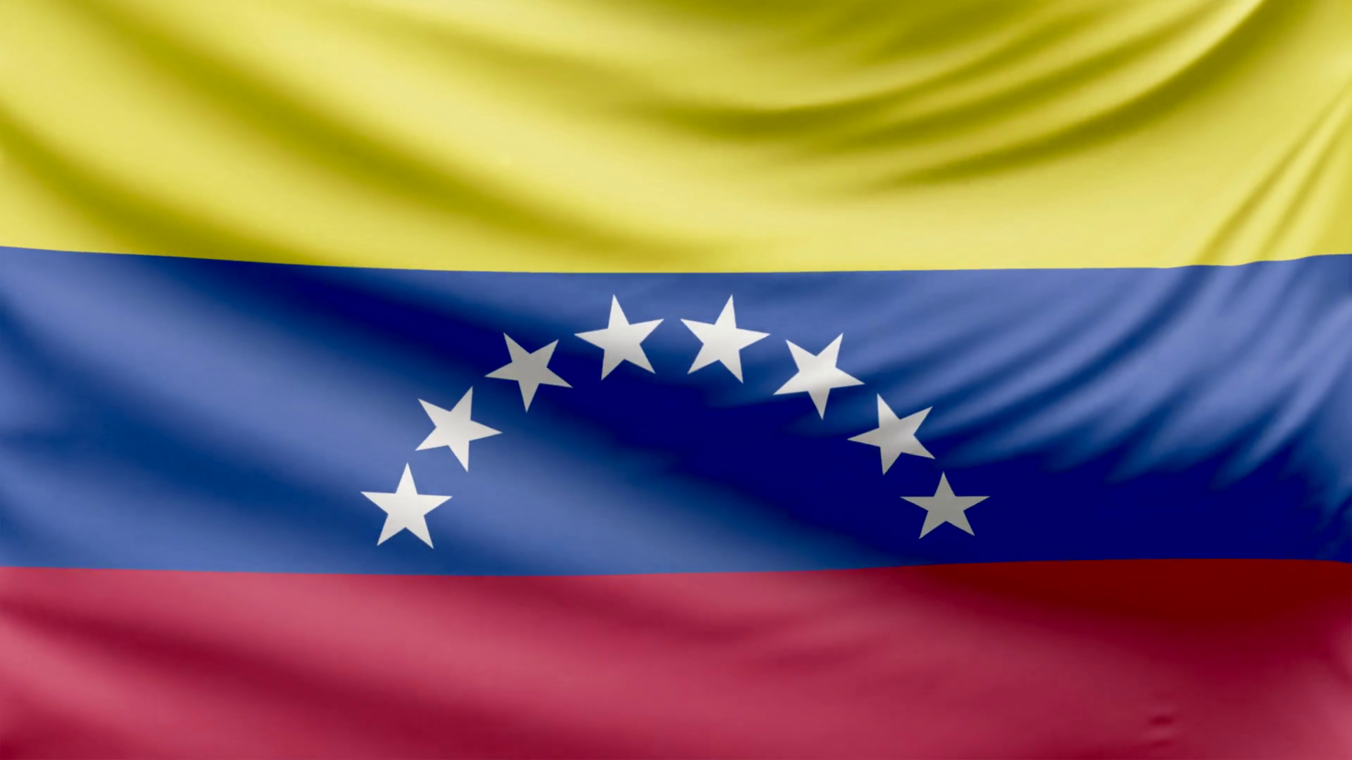1920x1080 Realistic Beautiful Venezuela Flag 4k Motion Background ...