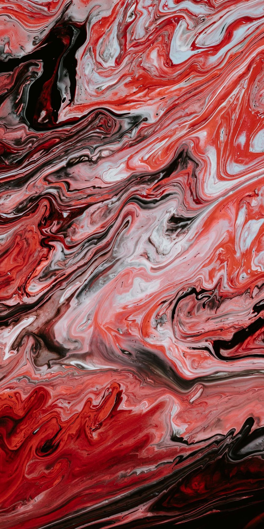 1080x2160 Red, canvas, texture, artwork, 1080x2160 wallpaper ...