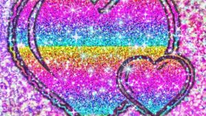 Colorful Glitter Hearts Wallpapers – Top Free Colorful Glitter Hearts Backgrounds