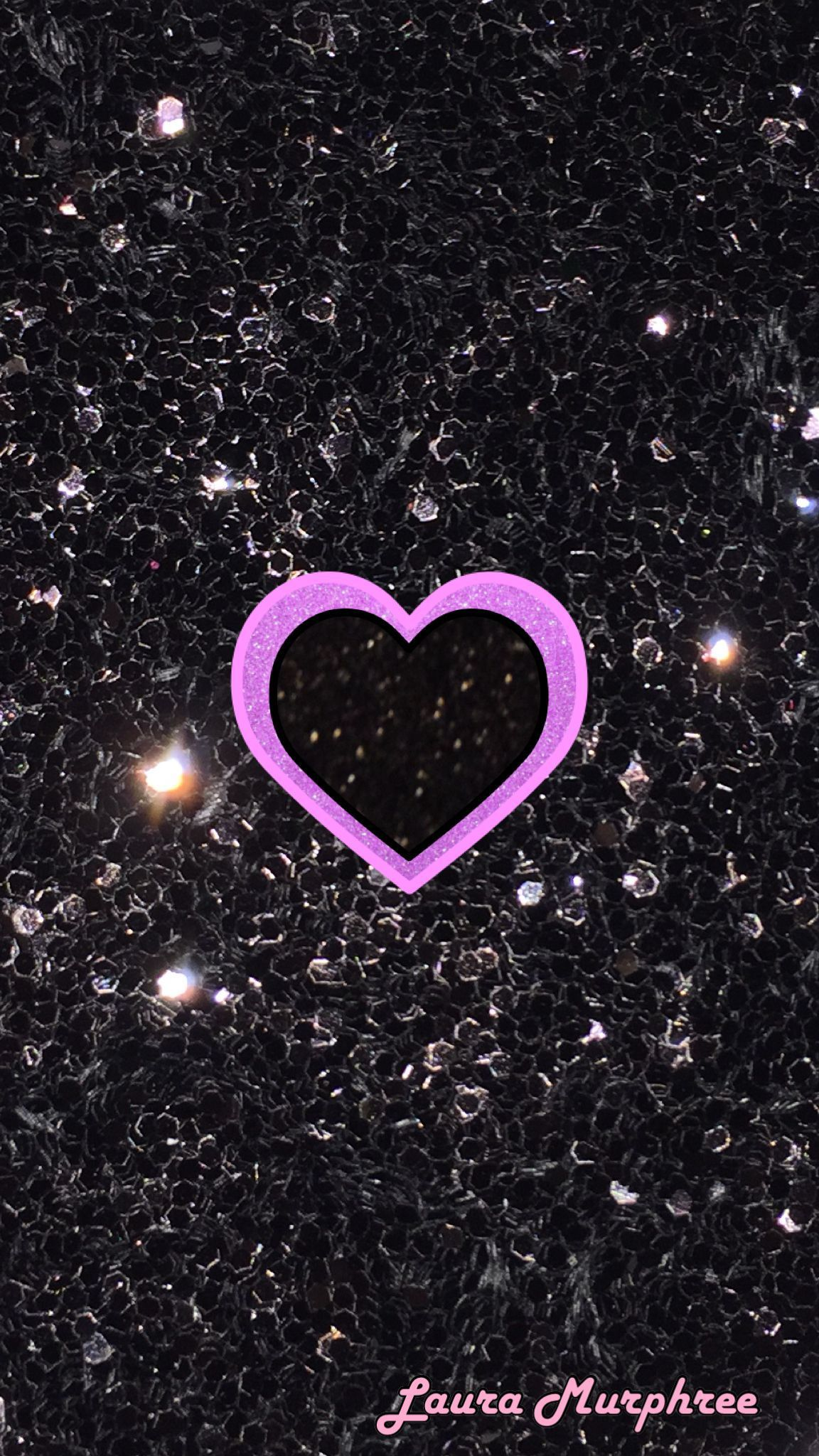 1152x2048 45+ Pink and Purple Heart Wallpapers - Download at WallpaperBro