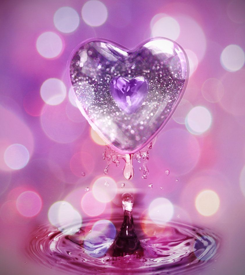 843x948 60+ Purple and Pink Heart Wallpapers - Download at WallpaperBro