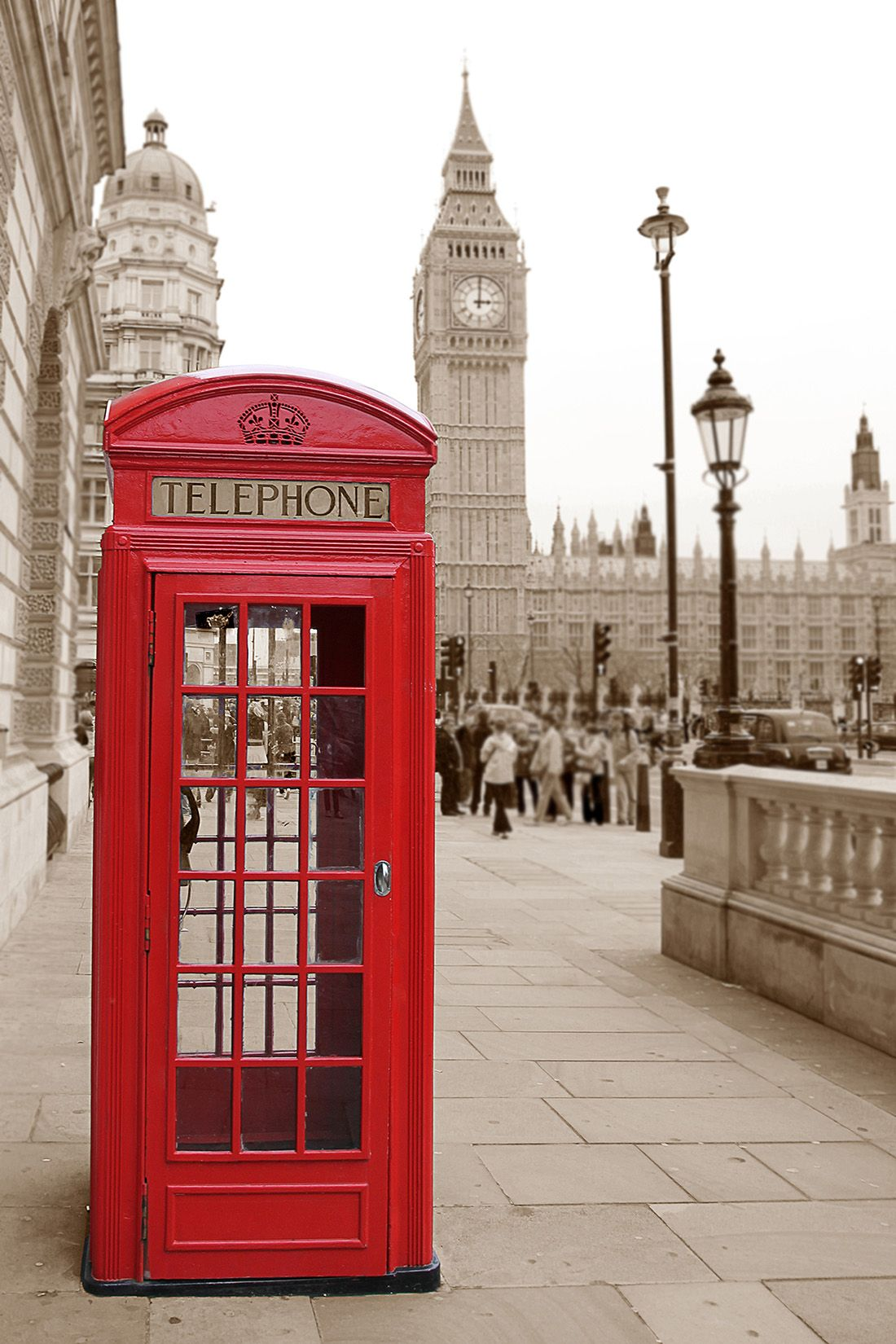 1100x1650 Phone Booth Wallpapers | Spot Wallpapers