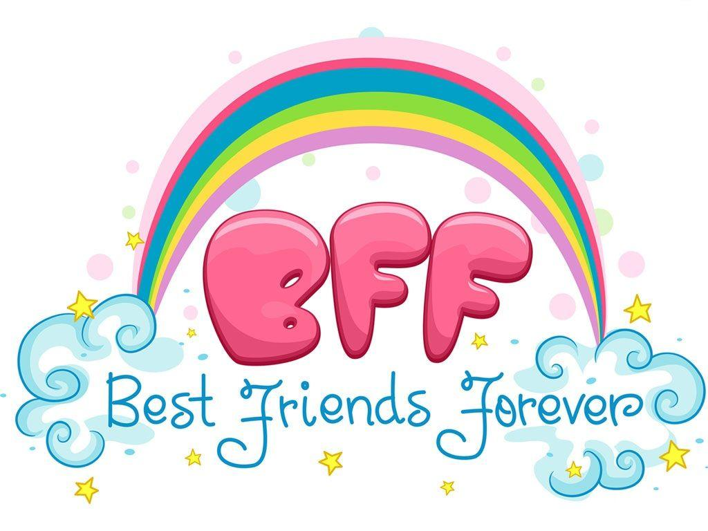 1024x768 Best Friends Forever Wallpapers
