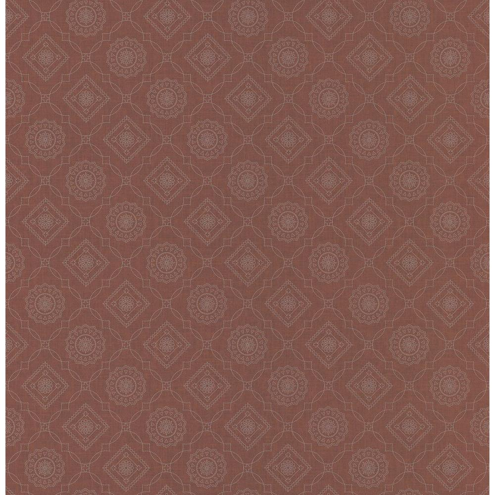 1000x1000 Northwoods Lodge Red Bandana Print Wallpaper Sample