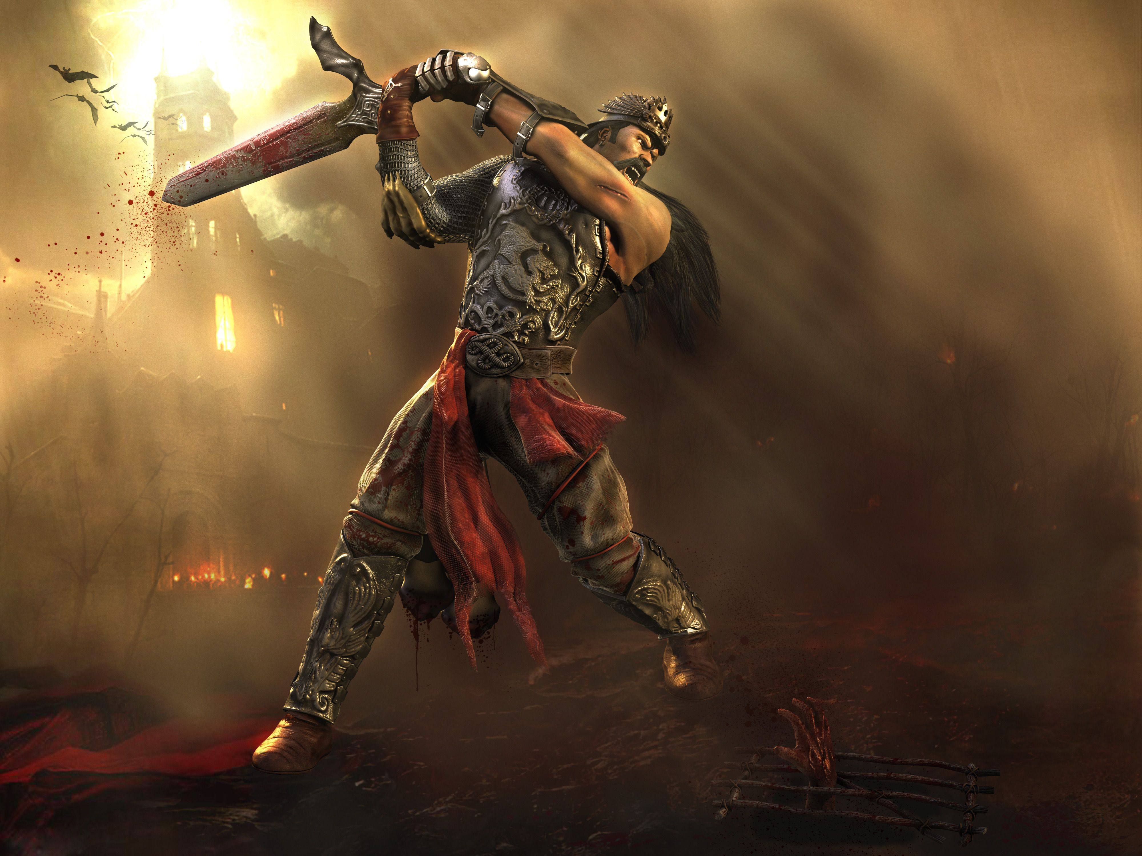 4000x3000 1195 Warrior HD Wallpapers | Background Images - Wallpaper Abyss