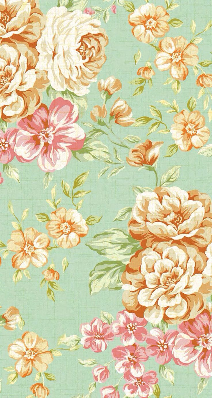 736x1377 Floral Print Wallpapers Group (51+)