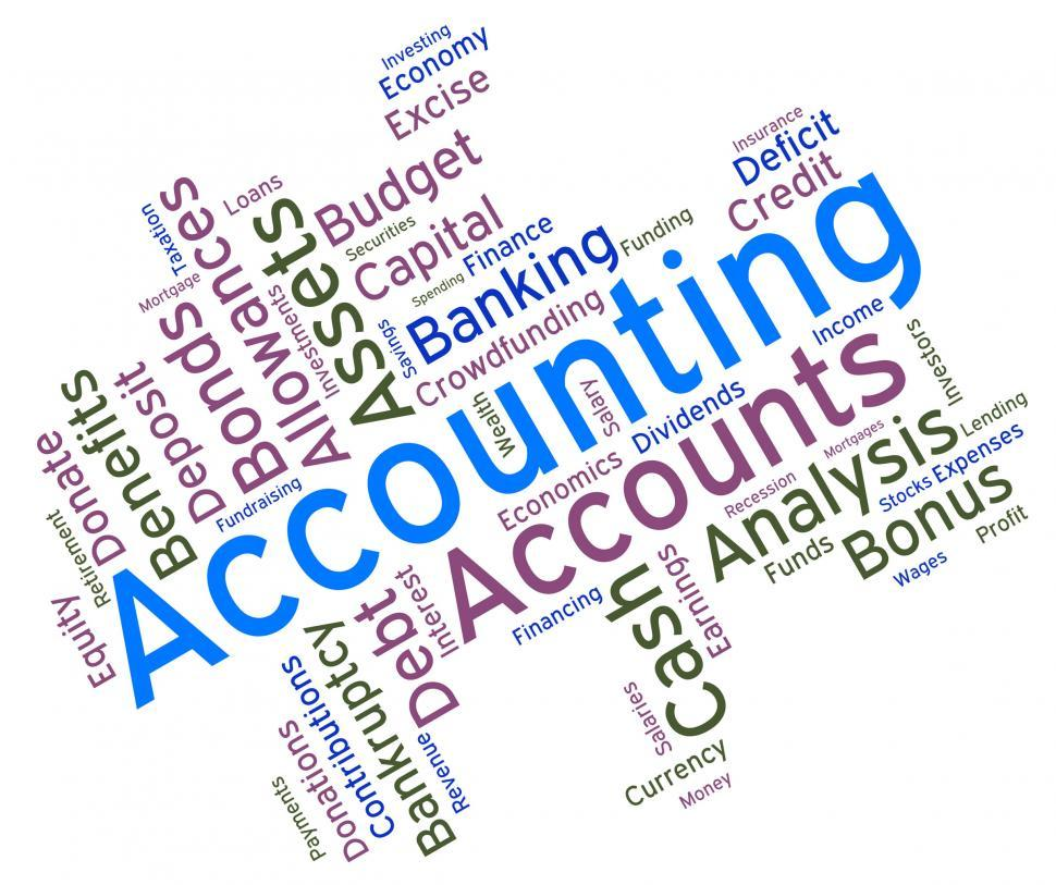 970x813 Get Free Stock Photos of Accounting Words Represents ...