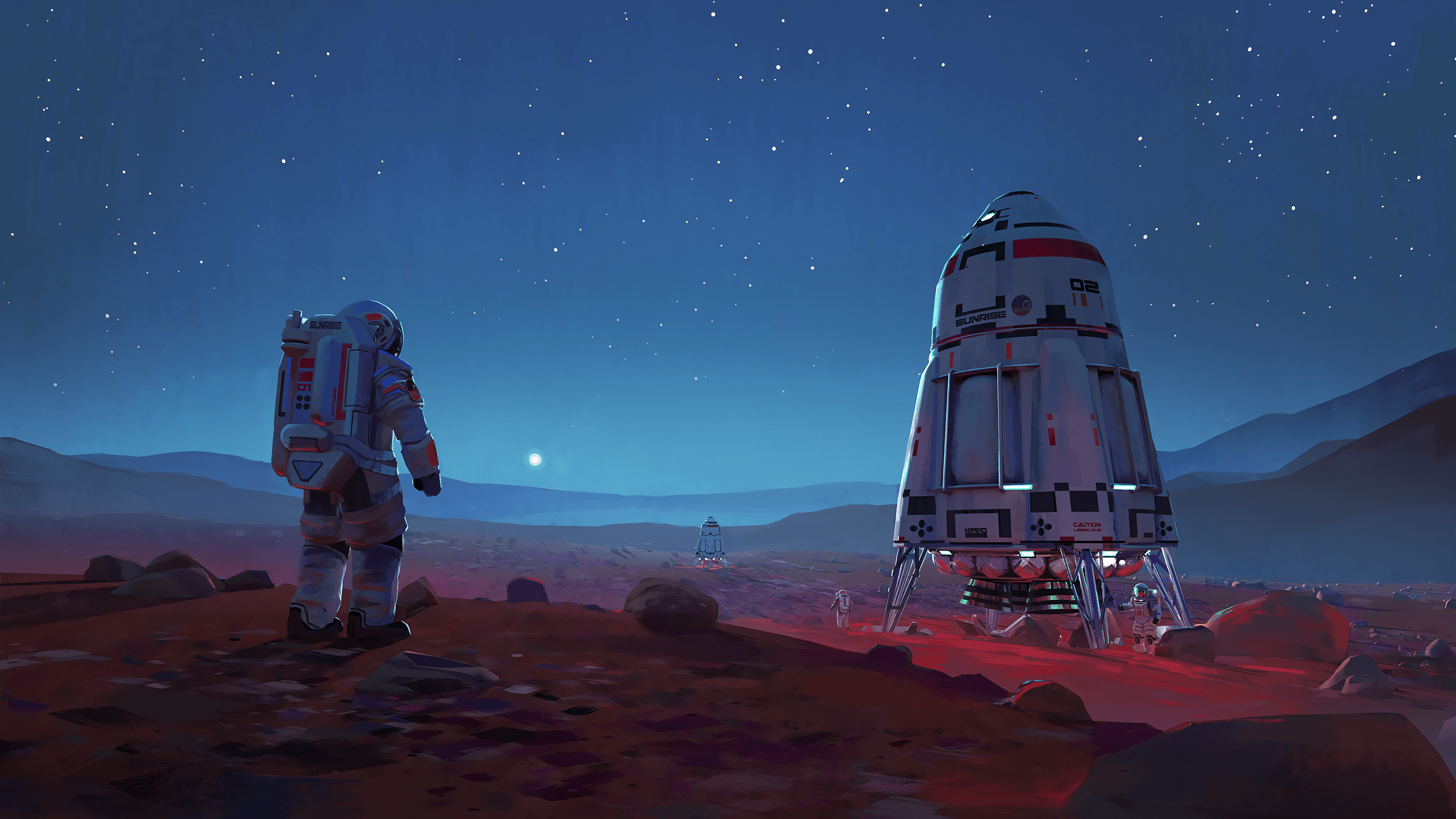 2560x1440 228 Astronaut HD Wallpapers   Background Images - Wallpaper Abyss