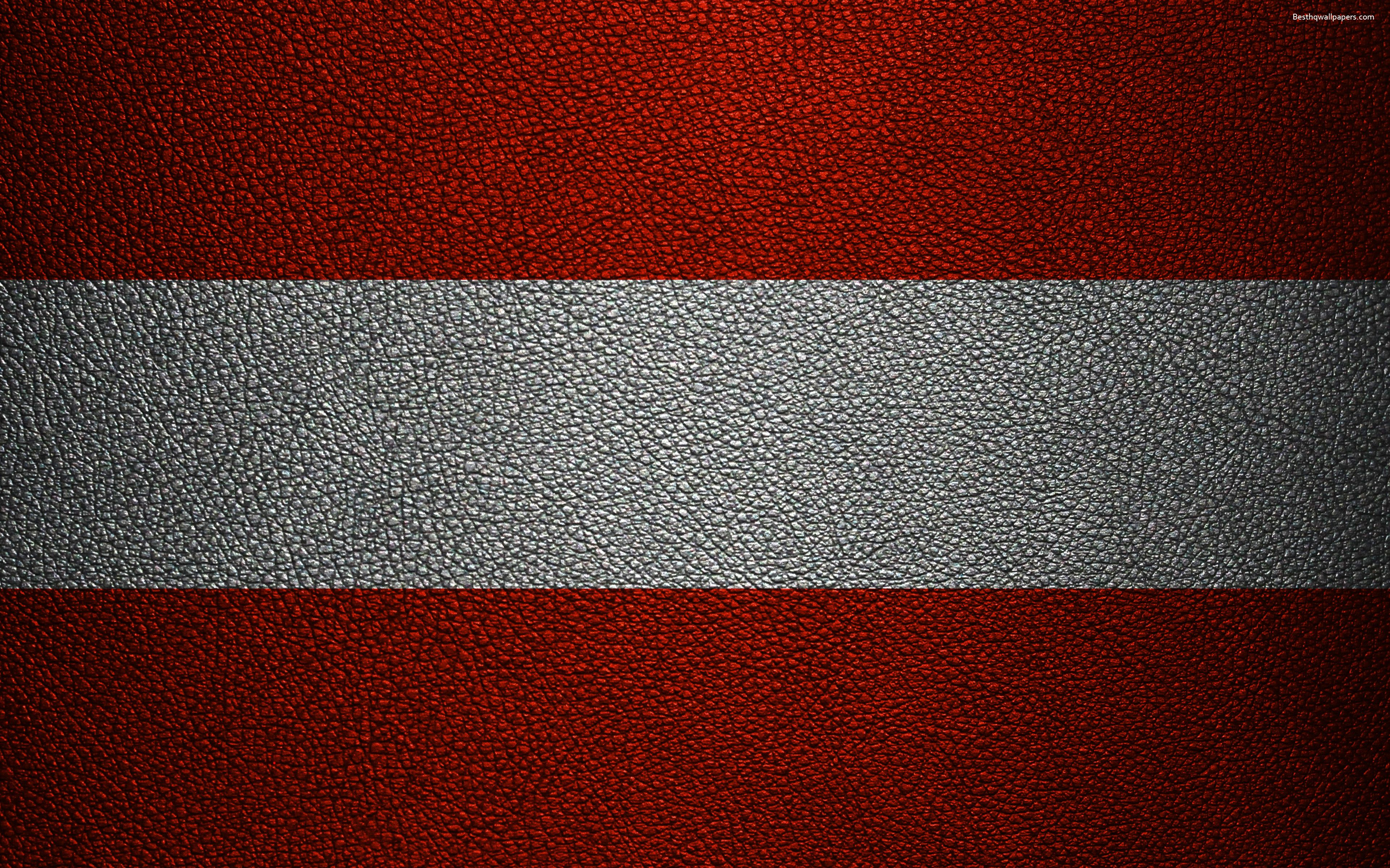 3840x2400 Download wallpapers Flag of Austria, 4k, leather texture ...