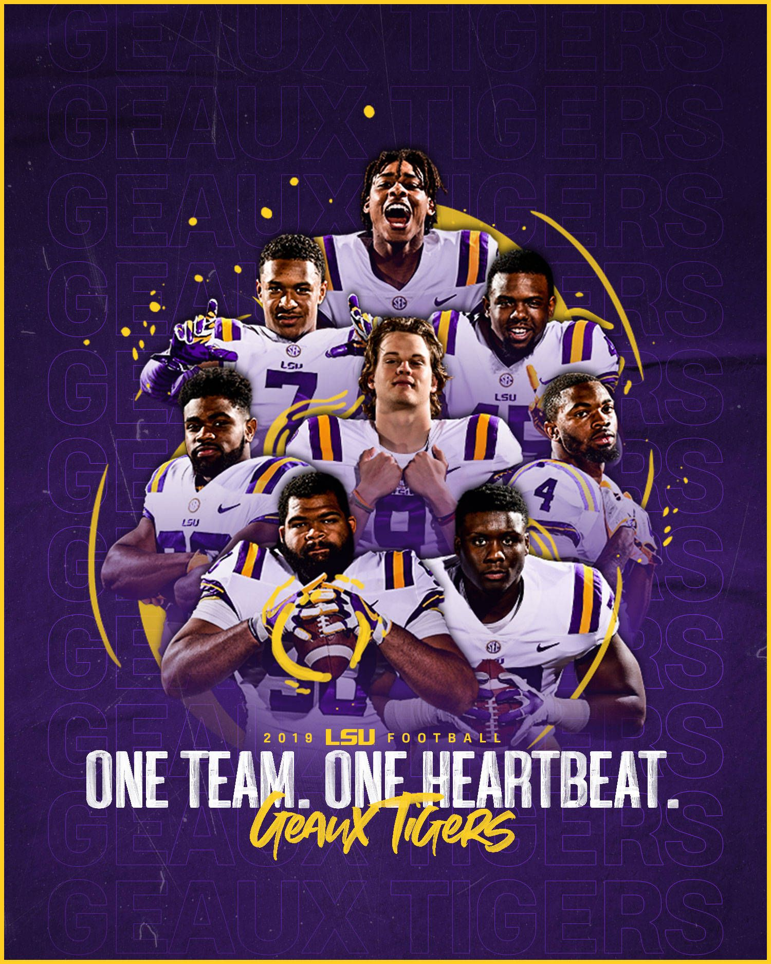 1500x1875 2019-20 LSU Athletics Wallpapers, Covers, Lock Screens ...