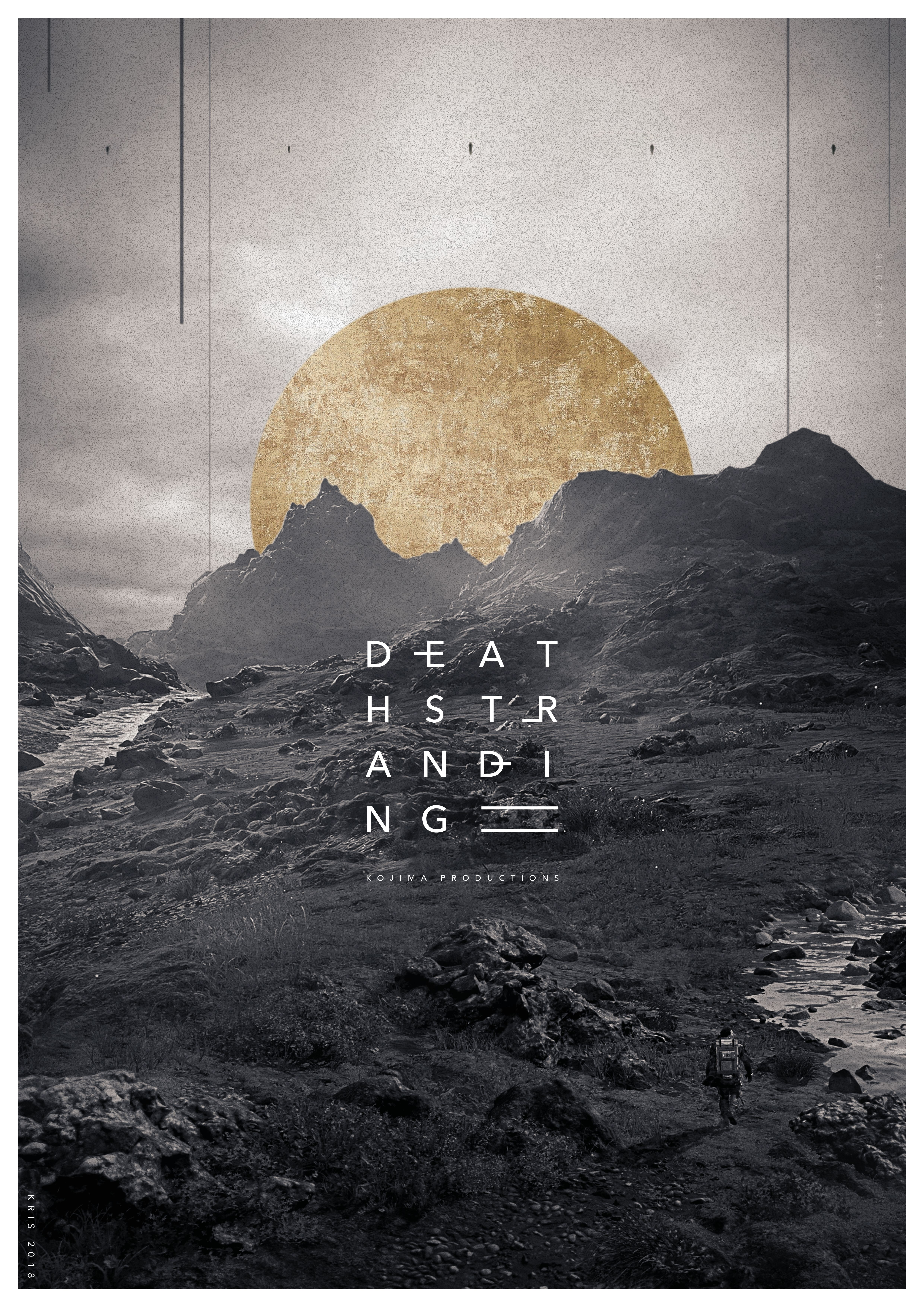 4961x7016 Pin by Abraham White on quote | Game art, Death stranding ...