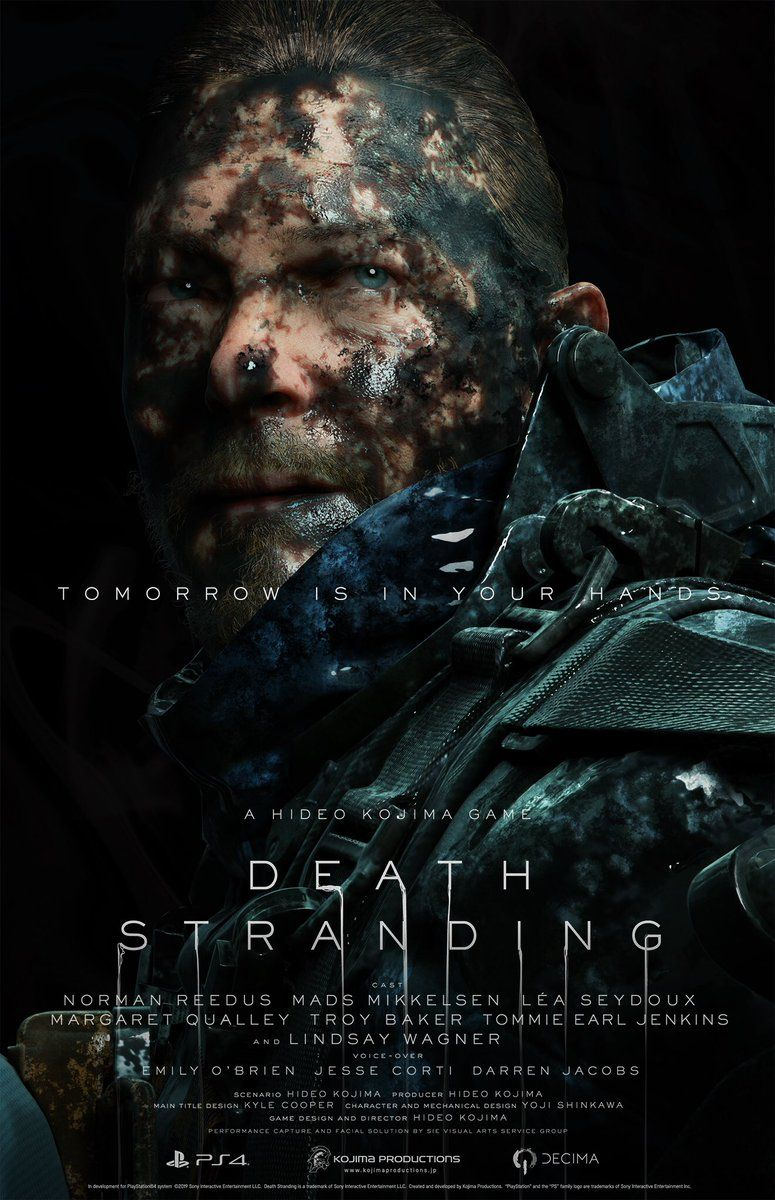 775x1200 New Death Stranding Character Posters and Screenshots ...