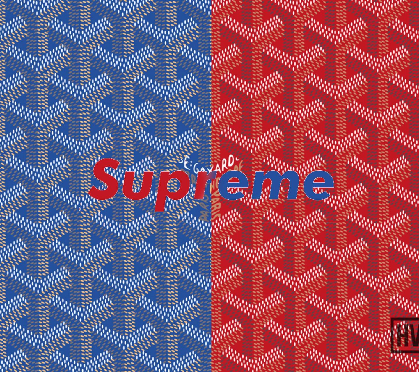 1440x1280 Supreme X Goyard Wallpaper by zain_786333 - af - Free on ZEDGE™