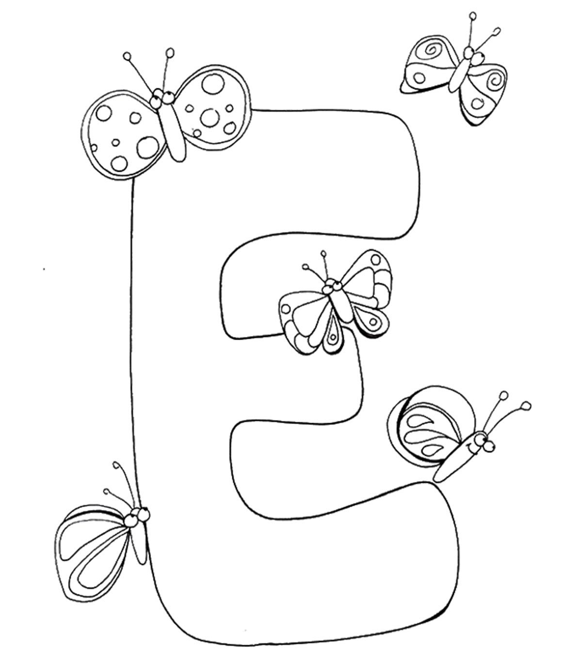 1200x1350 Top 10 Free Printable Letter E Coloring Pages Online