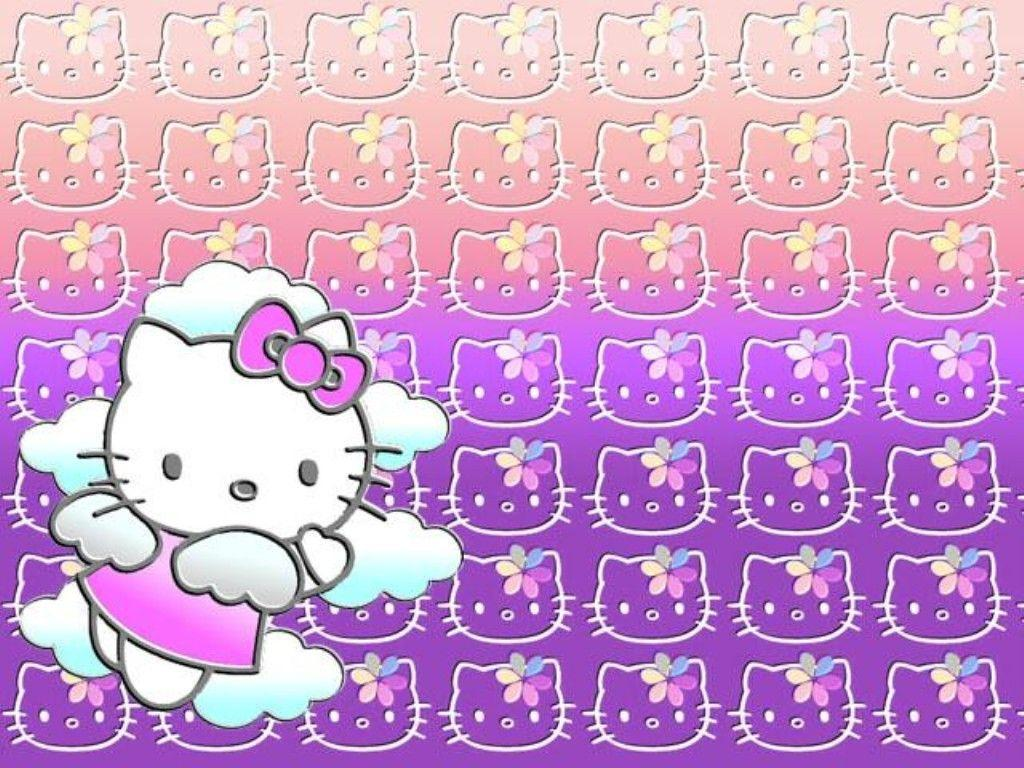 1024x768 Hello Kitty Pink Wallpapers