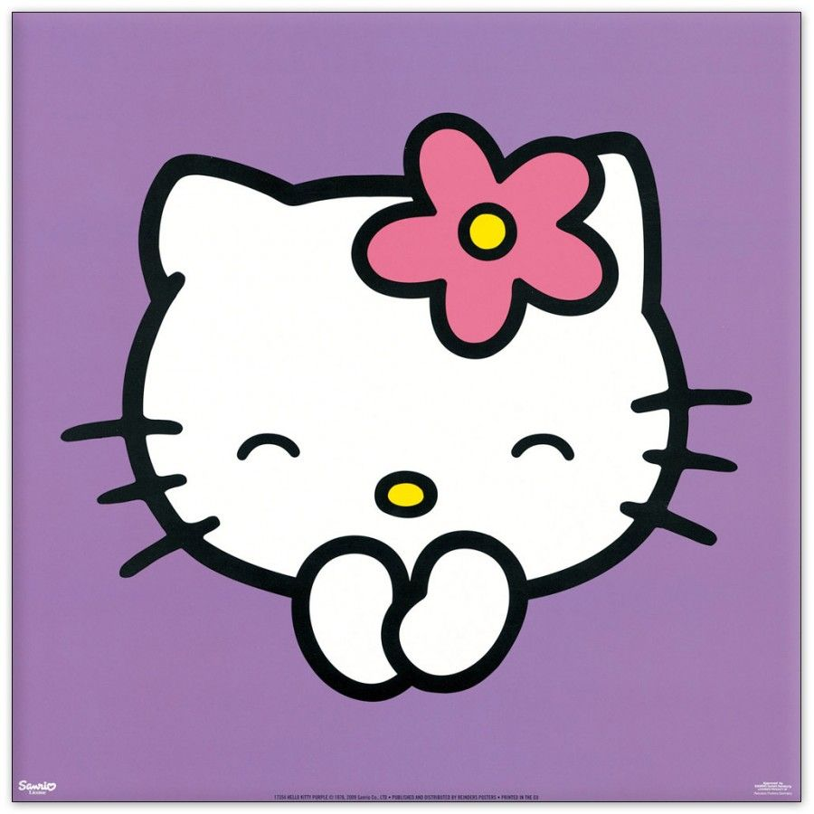 900x900 Free Purple Hello Kitty Wallpapers Background « Long Wallpapers
