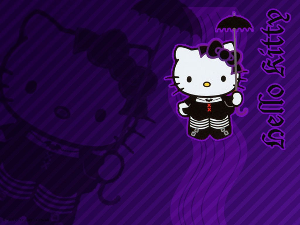 1024x768 Wallpapers Hello Kitty Group (78)