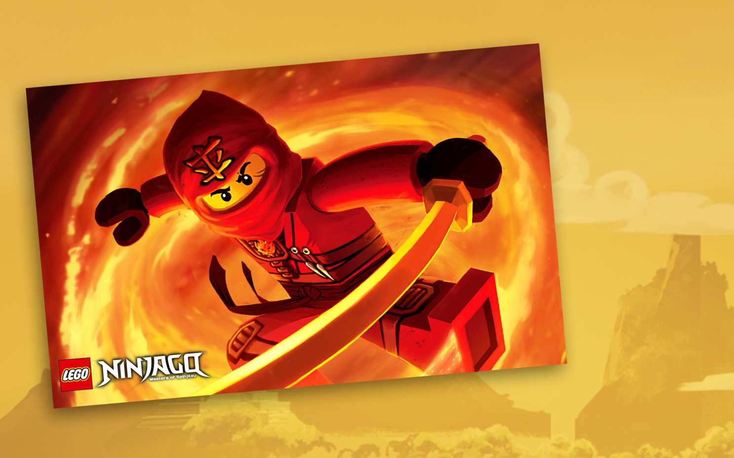 1488x929 Kai Poster - Tournament of Elements - Wallpapers - LEGO® NINJAGO ...