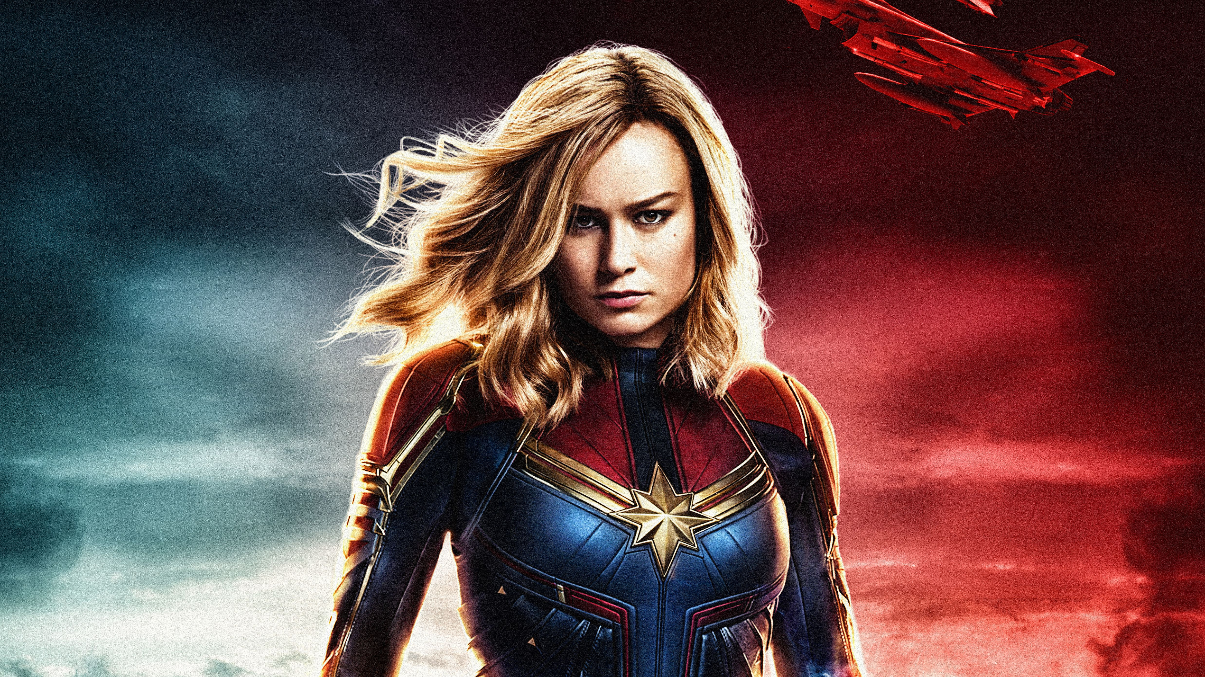 4950x2784 Captain Marvel 4k Ultra HD Wallpaper | Background Image ...