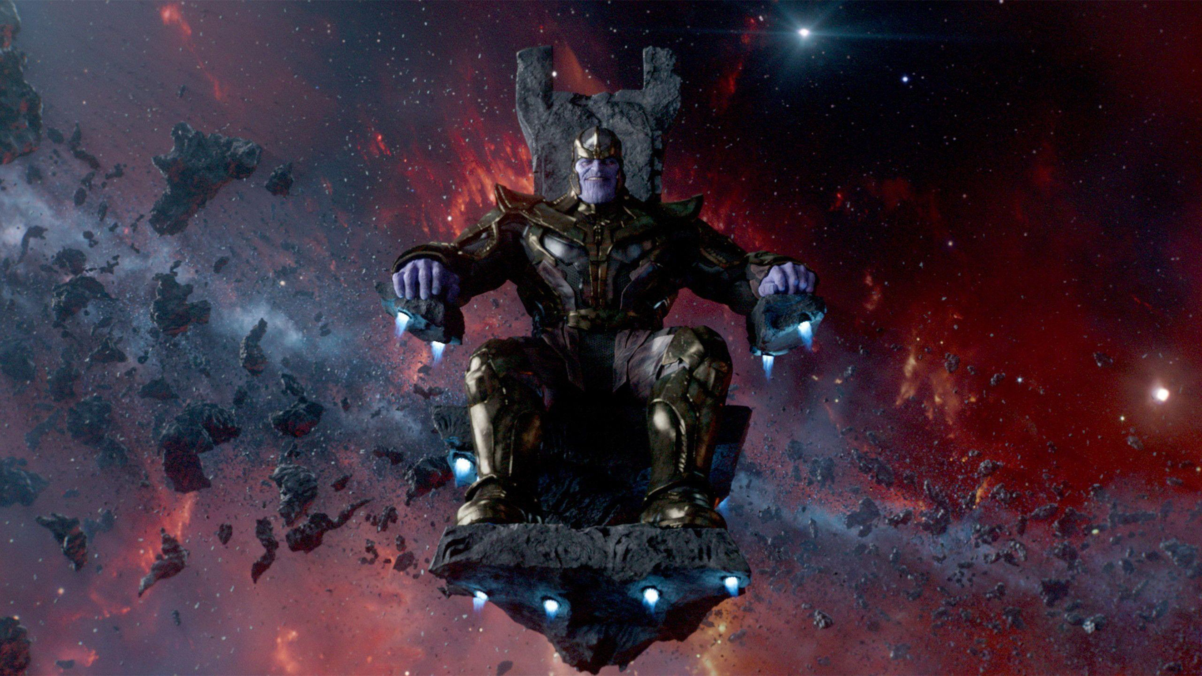 3840x2160 4K UHD 16:9 Darkness, Space, Thanos Wallpaper : Movies Wallpaper for ...