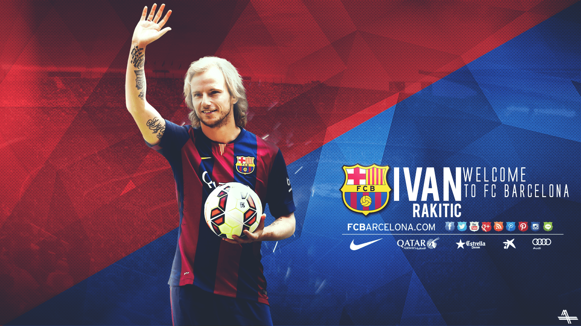 1920x1080 Rakitic Wallpapers