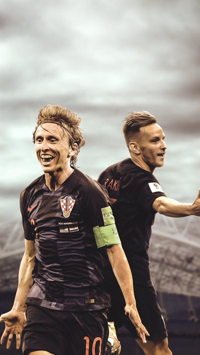 675x1200 Matty - Luka Modric And Ivan Rakitic, Hd Wallpapers ...