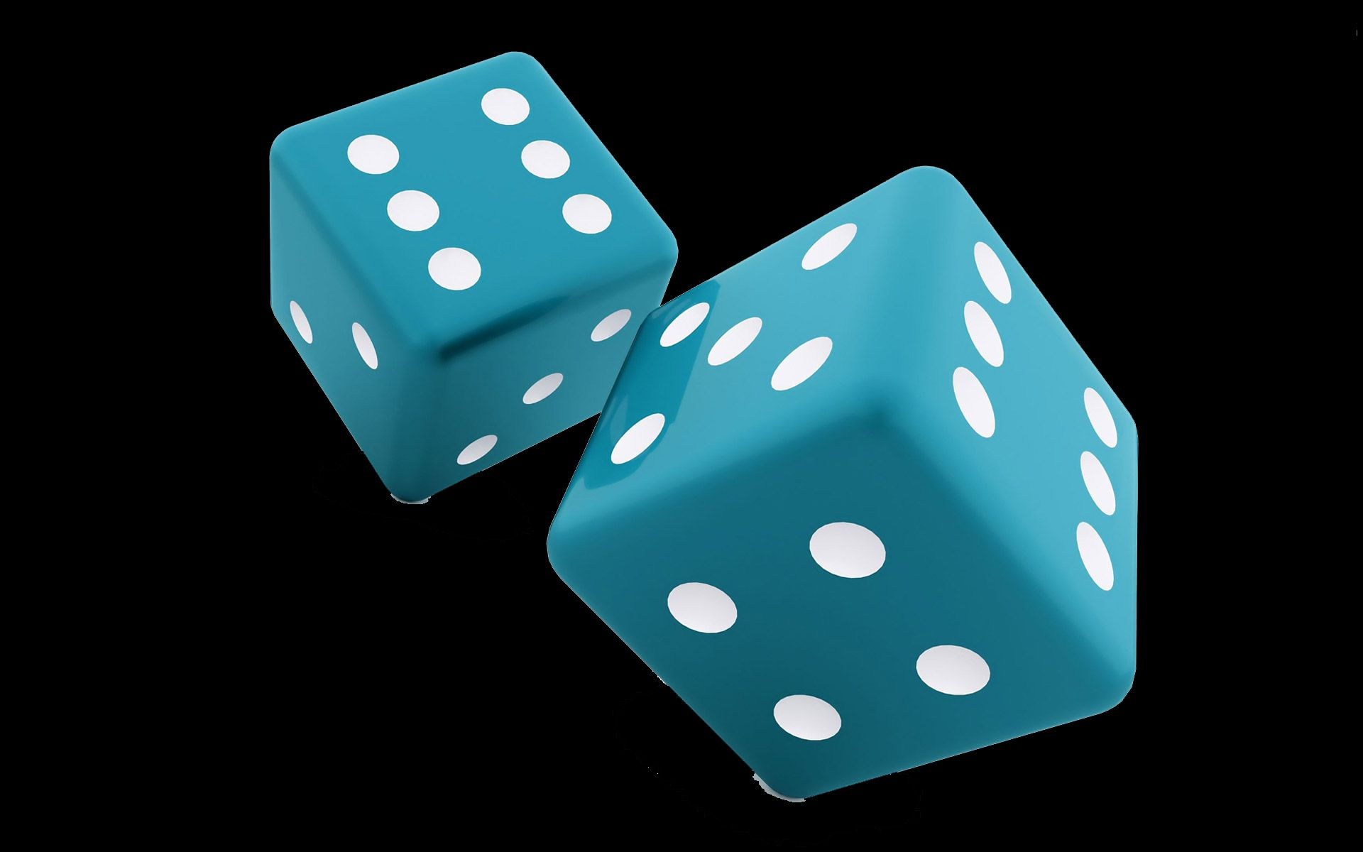 1920x1200 Colorful 3D Dice High Definition wallpaper