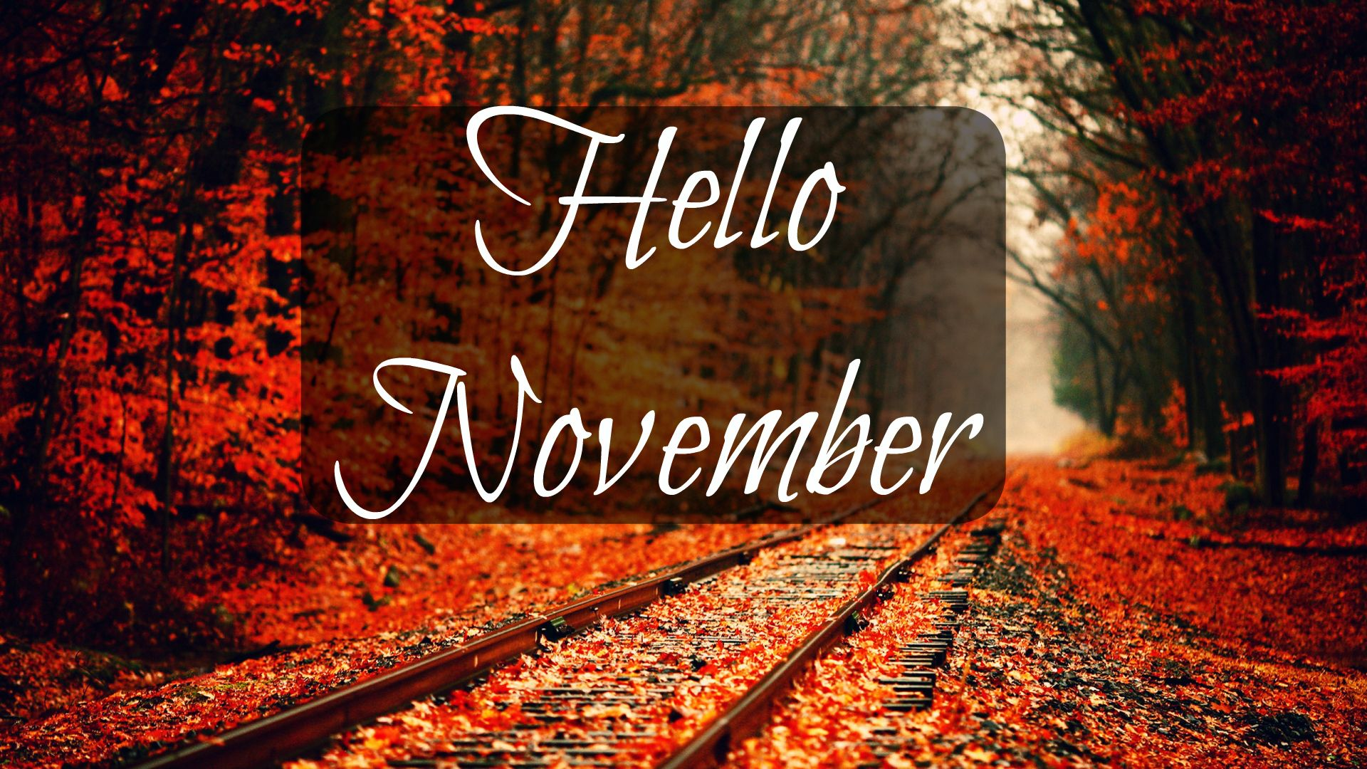 1920x1080 Hello November Wallpapers HD For iPhone