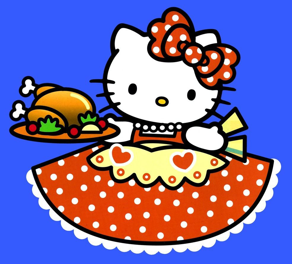 985x892 thanksgiving hello kitty | digs inside and out: November ...