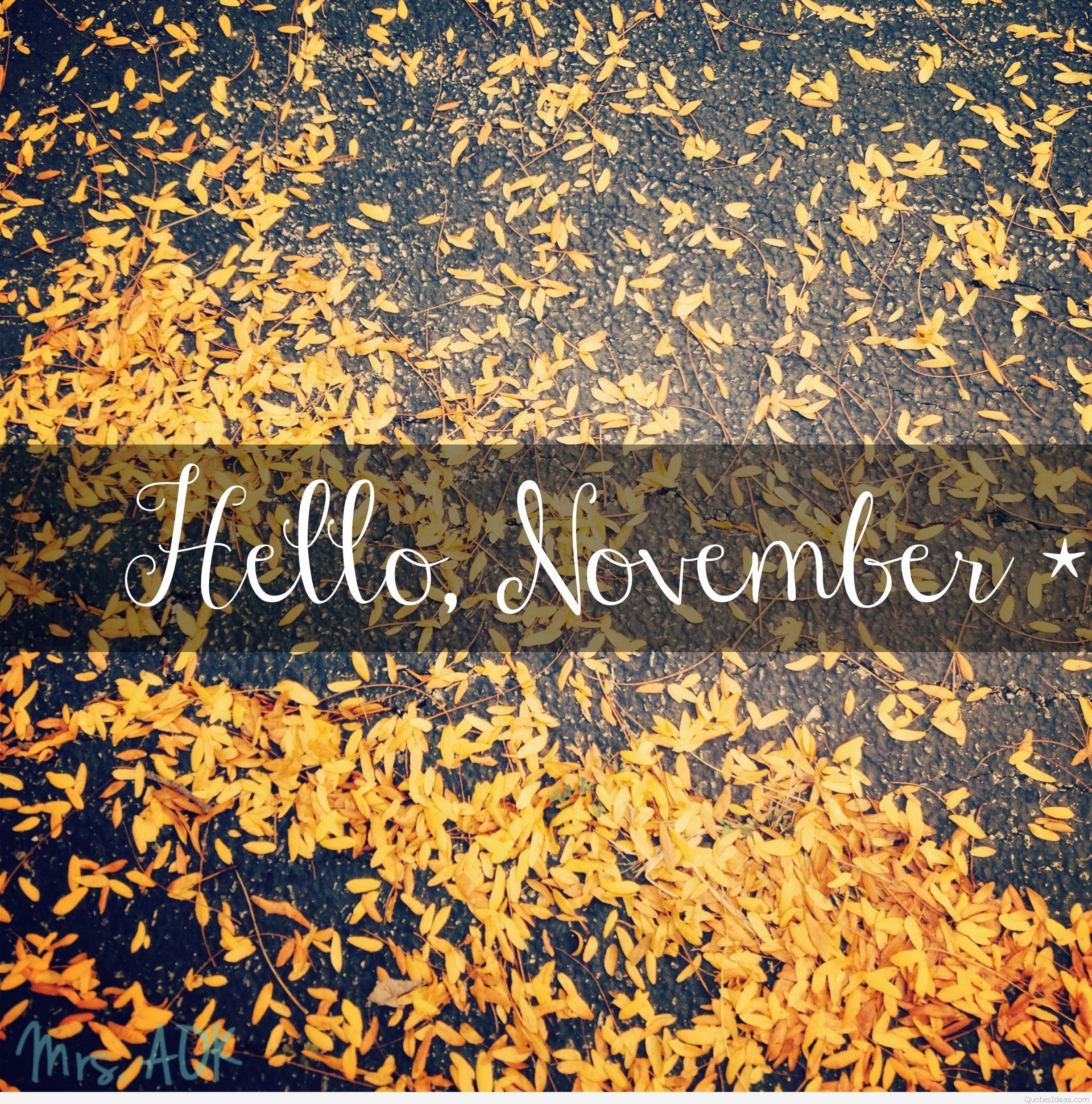 2448x2475 Pin by Lyndhel Cortez on Months,Holidays | Hello november ...
