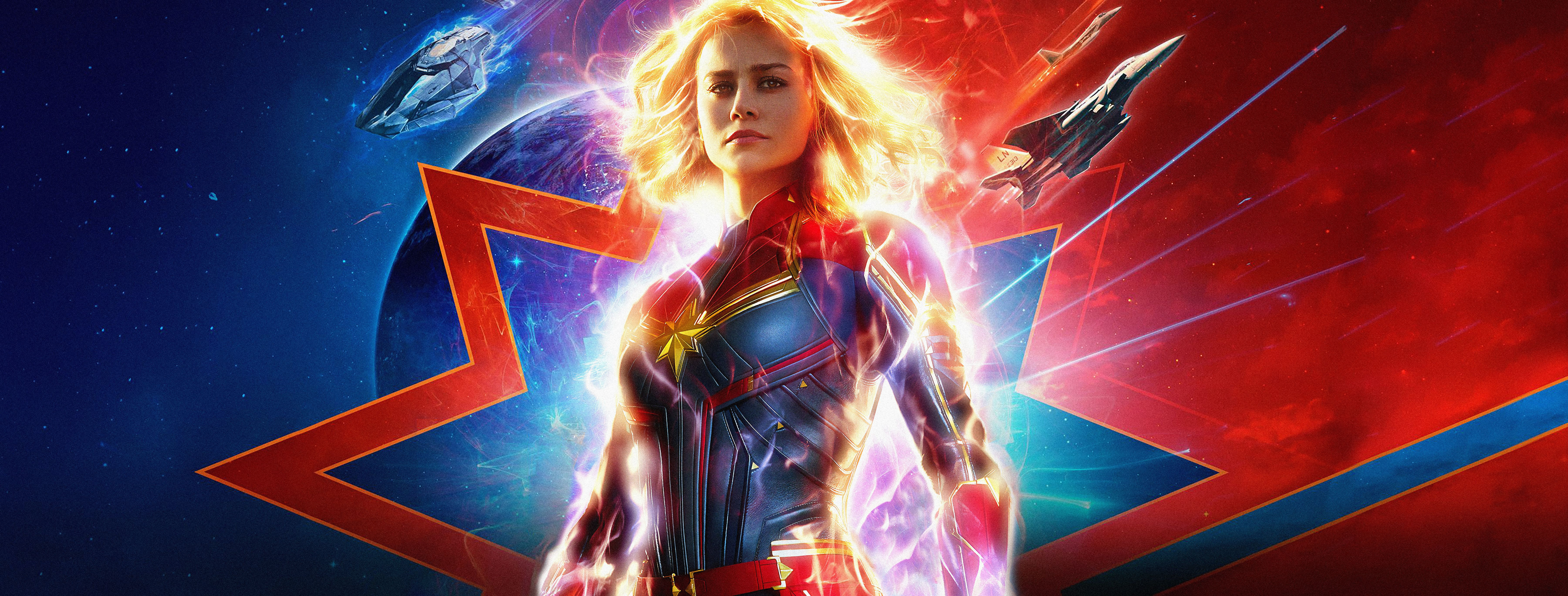 7200x2738 Captain Marvel 4k Ultra HD Wallpaper | Background Image ...
