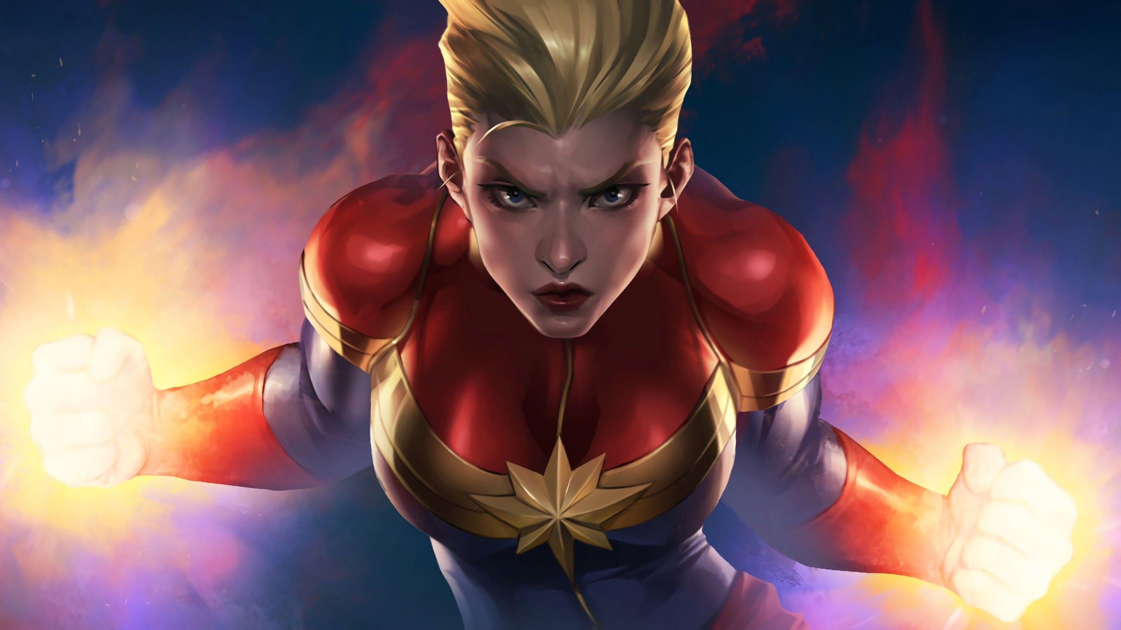 3840x2160 4K Photo of Captain Marvel | HD Wallpapers