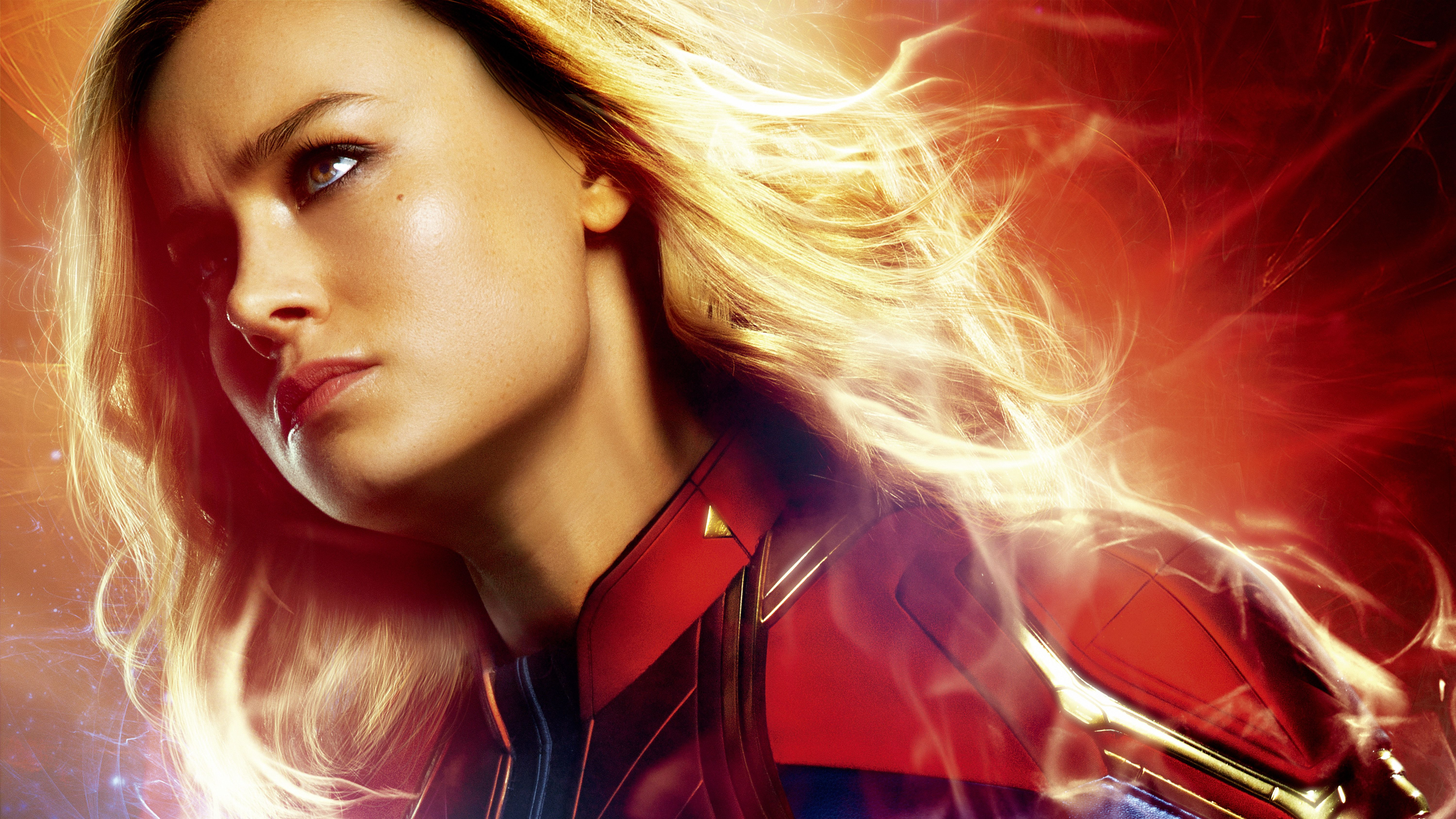 6000x3375 Wallpaper Captain Marvel, Brie Larson, 4K, 5K, 2019, Movies ...