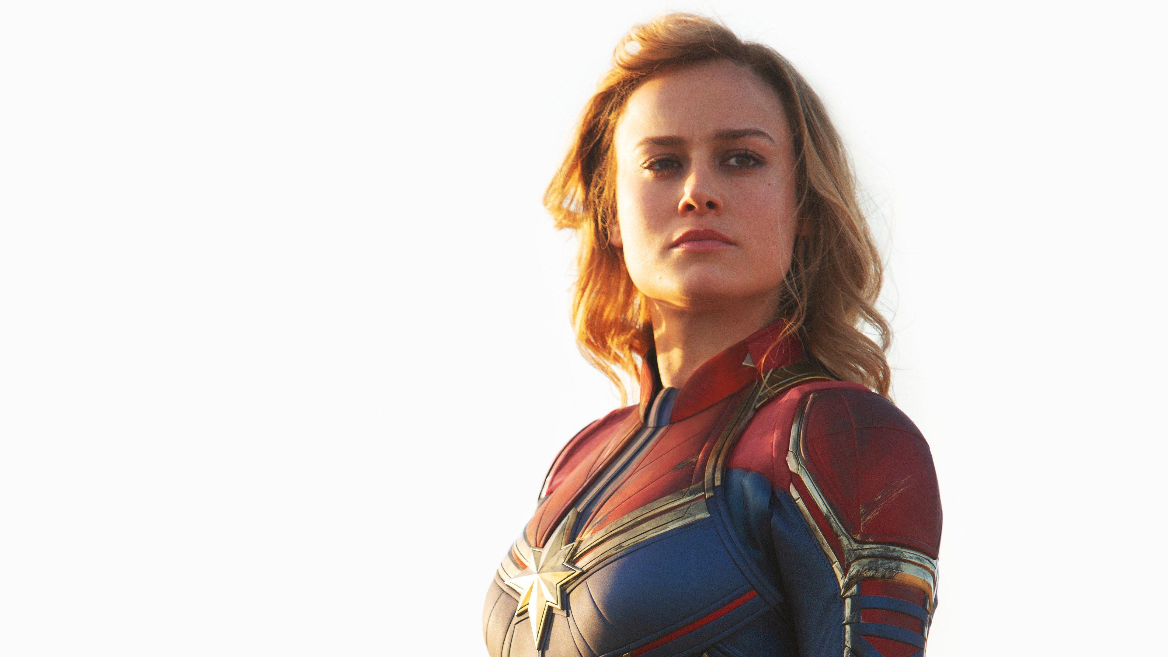 3840x2160 4K Carol Danvers Captain Marvel Desktop HD Wallpaper 39935 ...
