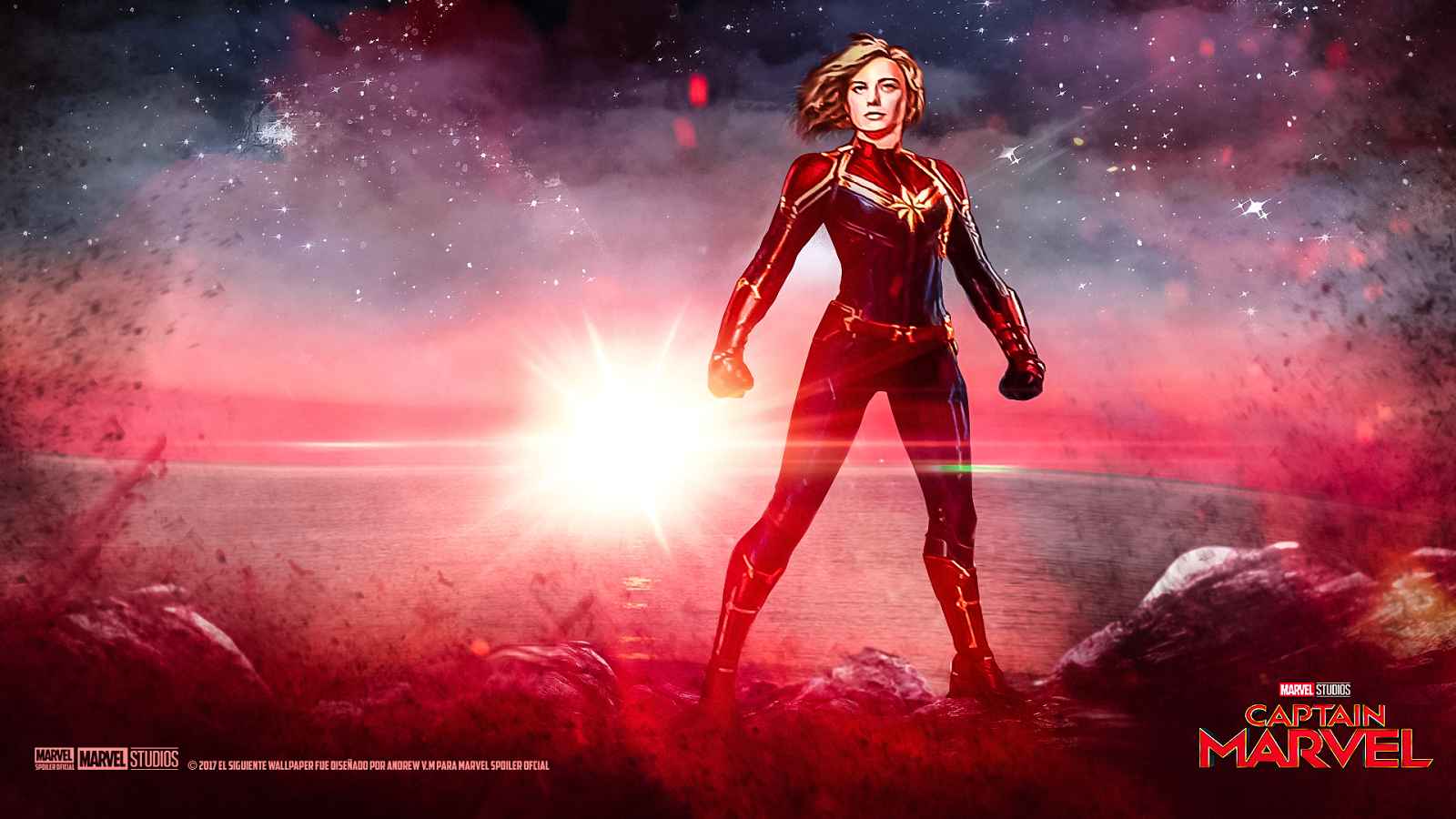 1600x900 Captain Marvel HD Wallpapers