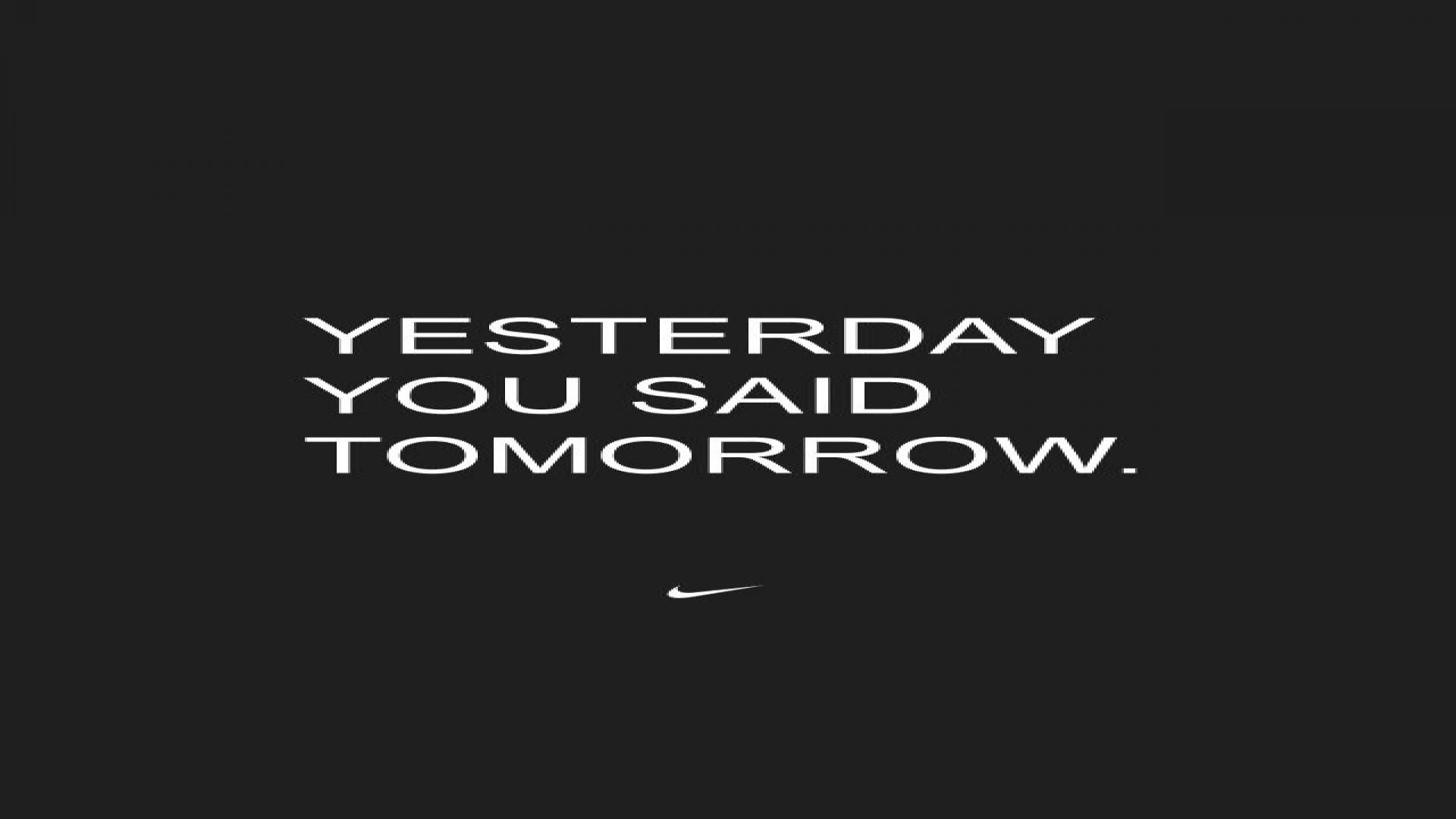 1920x1080 Nike Motivational Wallpaper - Picserio.com