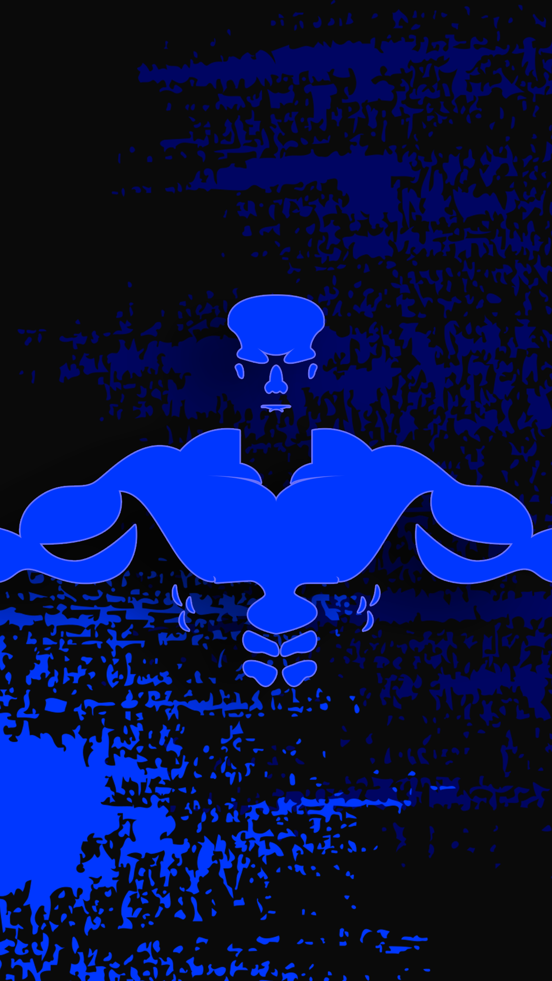 1080x1920 Ultra HD Bodybuilder Blue Wallpaper For Your Mobile Phone ...
