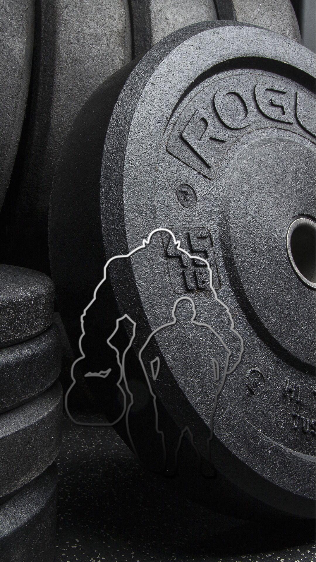 1080x1920 4k Background Dumbell - Iphone 6 Gym Wallpaper Fat To Beast ...
