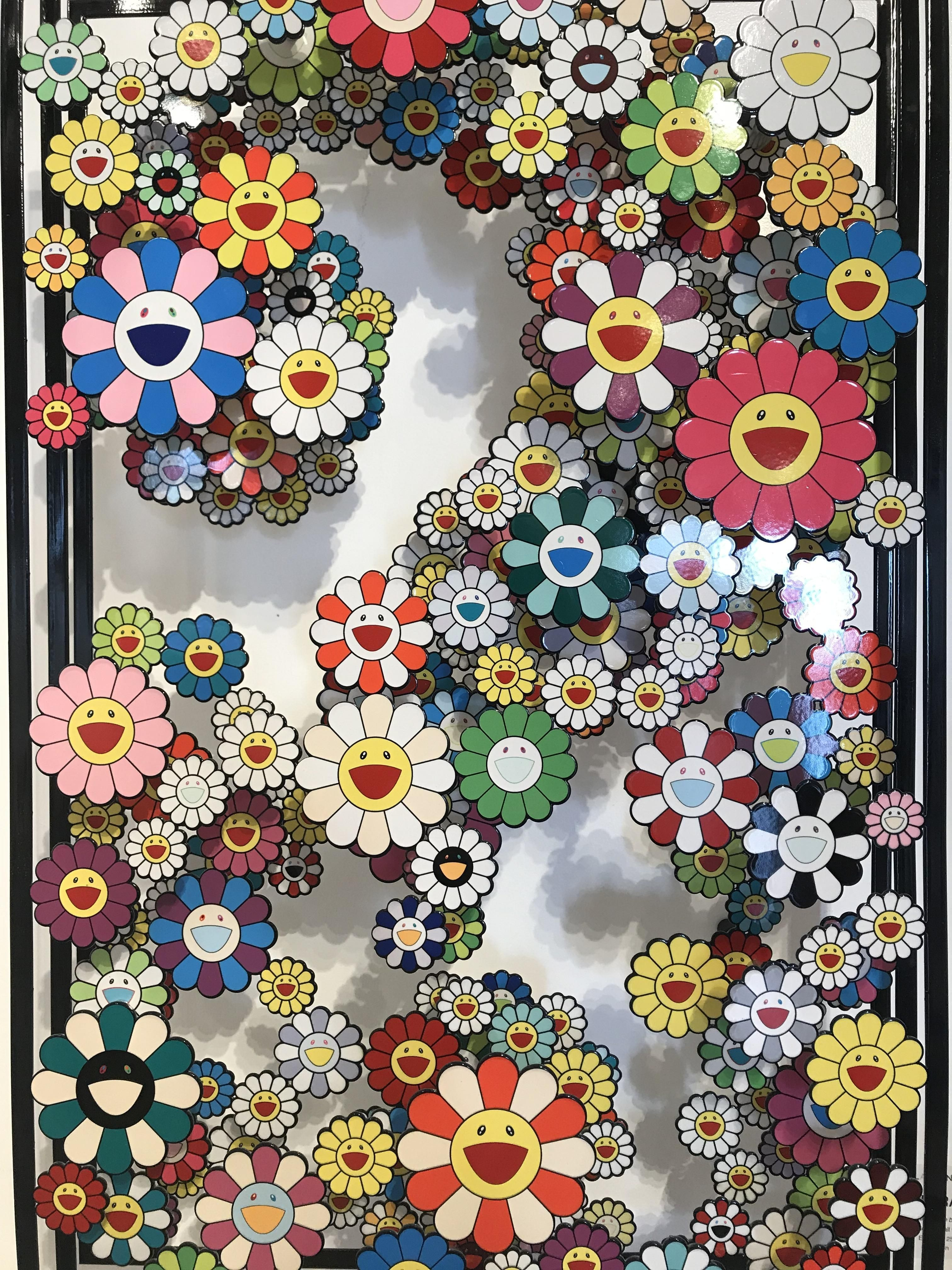 3024x4032 This Takashi Murakami I took a pic of at a gallery in Miami ...