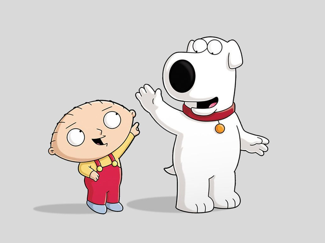 1032x774 I love Brian and Stewie! | Family guy stewie, Brian family ...