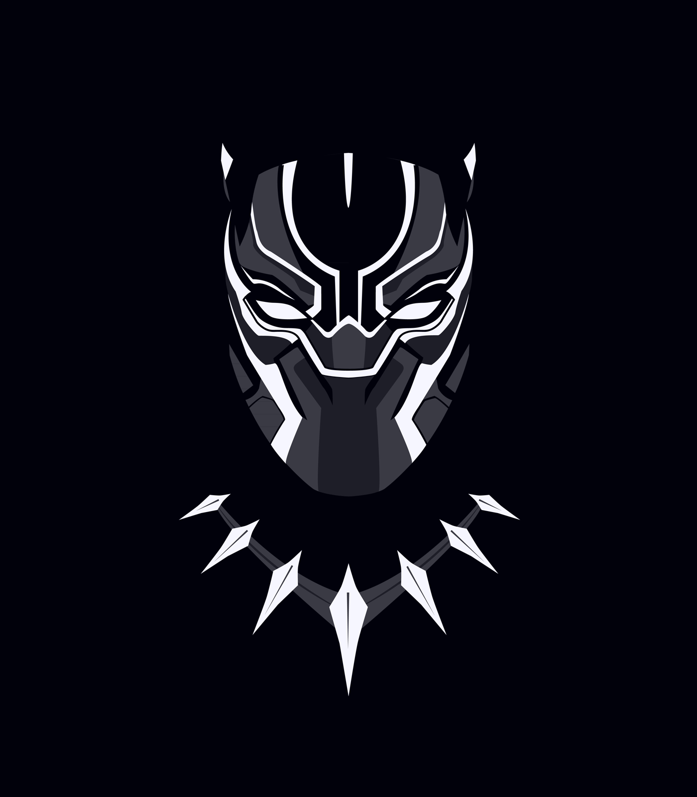 1400x1600 Black Panther Marvel Mobile Wallpapers